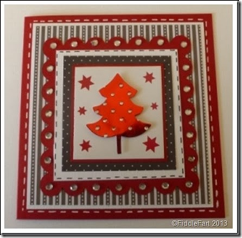 Layered Christmas Tree Card