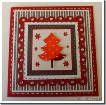 Layered Christmas Tree Card