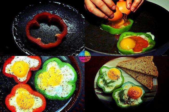 ovo pimentão