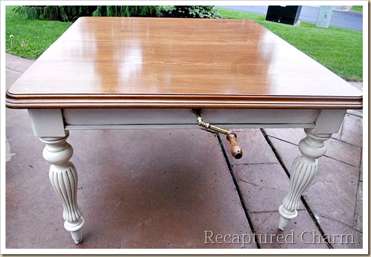 solid wood table 064a