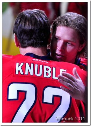 Congratulating Knuble