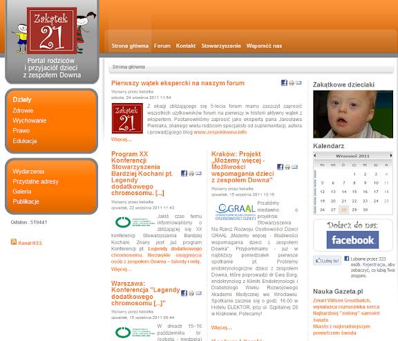 Portal Stowarzyszenia Zakątek 21