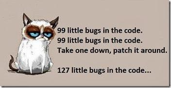 cat on bugs