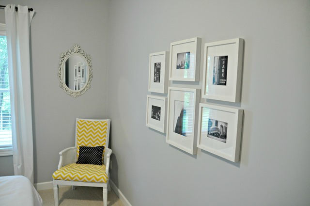 Guest Room Gallery Wall Change of Art