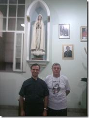Pe Silvestre (à esquerda)