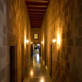 Corridor by Zoran Dojcinov - Buildings & Architecture Public & Historical