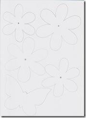 fiori in scala per mobiles con cannucce 2