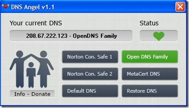 DNS Angel server DNS sicuri attivati
