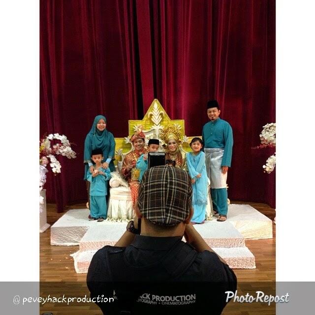 blog along25 kenduri kahwin gambar family keluarga
