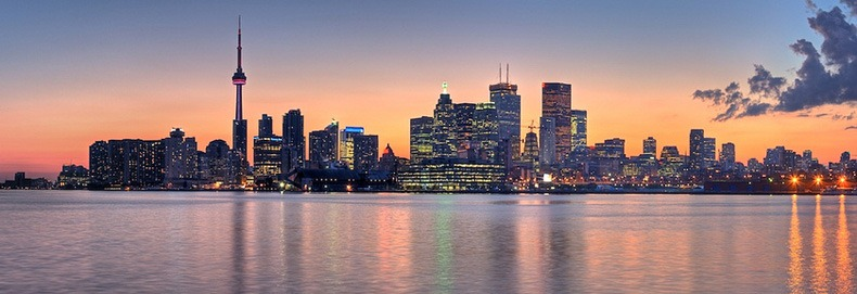 Toronto Skyline - Sunset