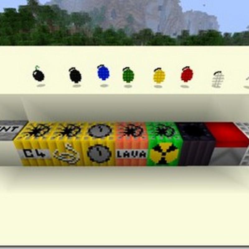 Minecraft 1.3.2 - More Explosives Mod (+ esplosivi)