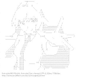 [AA]Koko Hekmatya (Jormungand)