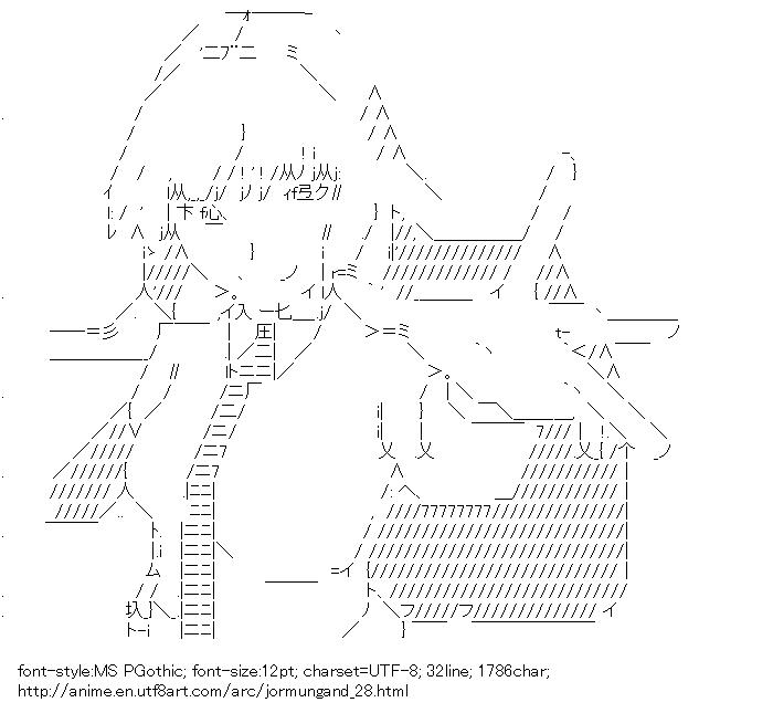 Jormungand,Koko Hekmatya