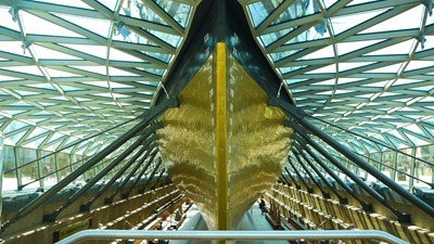 Underneath the Cutty Sark