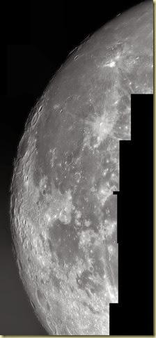5 November 2014 Moon Mosaic