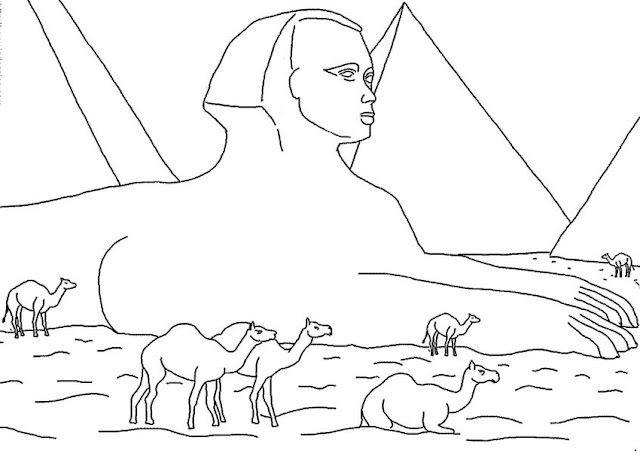 Salvador Dali Coloring Pages