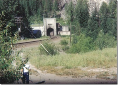 East Portal of the Cascade Tunnel at Berne, Washington in 1994