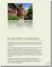 Le modèle scandinave