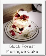 black forest meringue cake