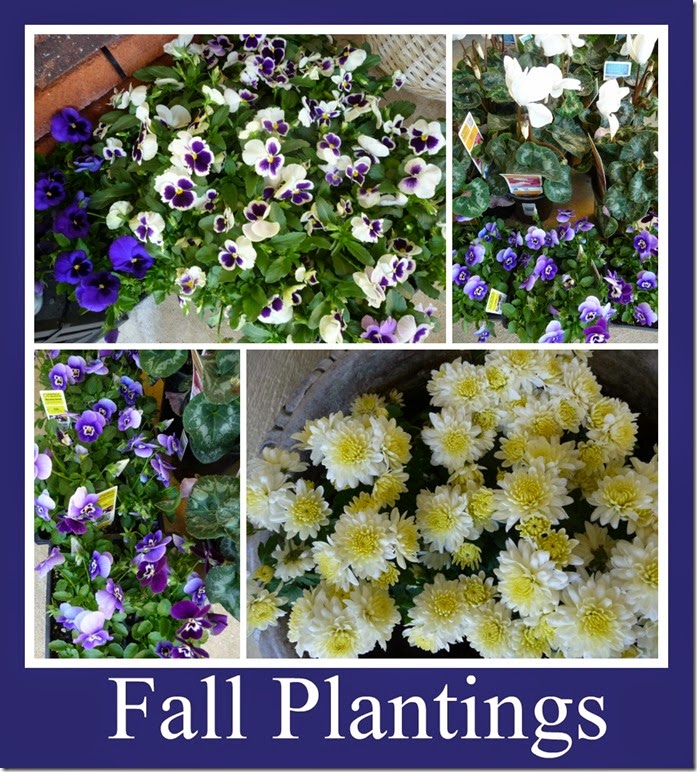 Ribbet collage 2014 Fall plantings