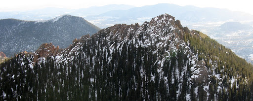 The Catamount from summit of Tarryall.