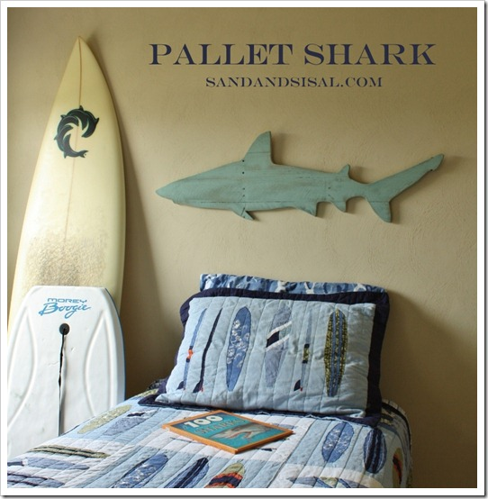 Pallet Shark by Sand & Sisal
