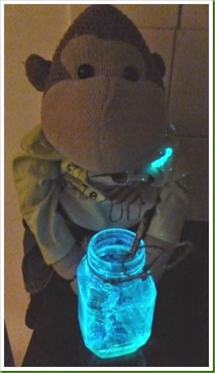 Spooky Glow stick lantern