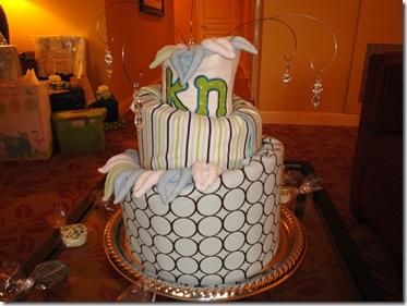 3.  Diaper cake