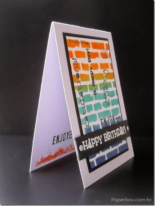 Geburtstagkarte,Rođendanska čestitka (2)