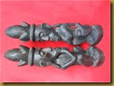Sepasang patung asmat - smpg