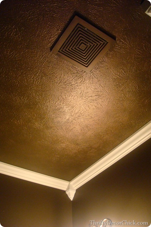 dark brown ceilings