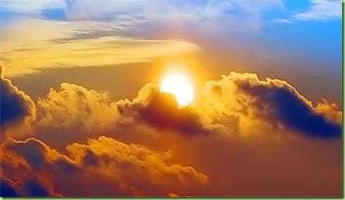 Päike pilved
