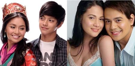 Kathryn Bernardo and Daniel Padilla, Bea Alonzo and John Lloyd Cruz