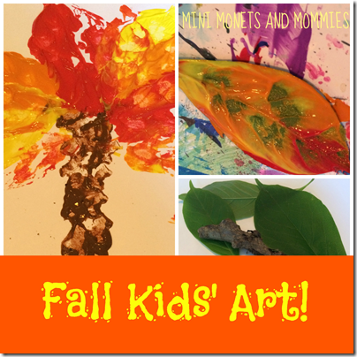 Fall Kids Art #fall #preschool
