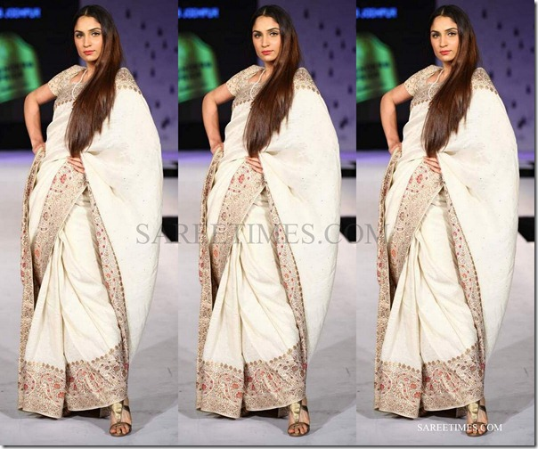 Raghuvendra_Rathore_White_Saree