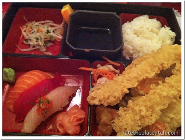 Meiko Sushi Nigiri Tempura Dinner