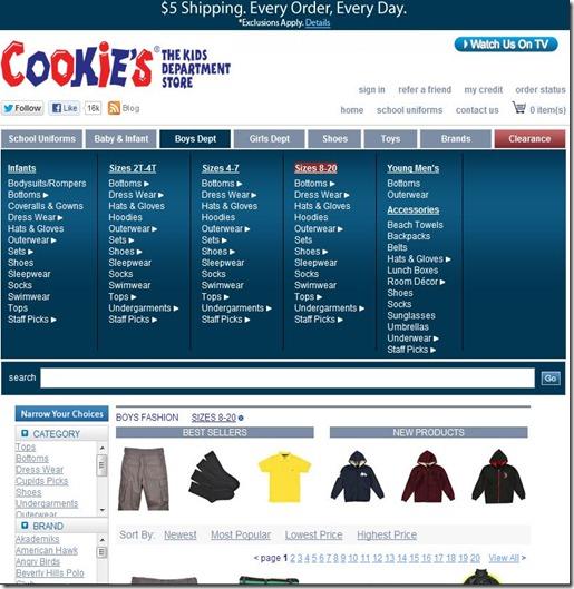 Boys selection Cookies Kids