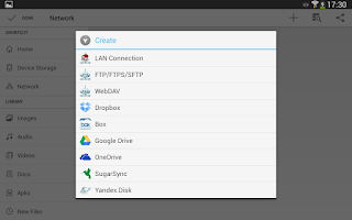 Screenshot of File Manager HD (Explorer,FTP)
