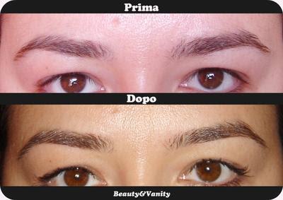 Sopracciglia perfette: depilazione orientale con filo di cotone