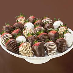 sugar free chocolate strawberries