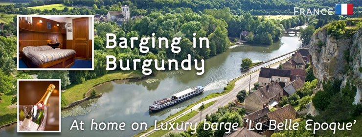 France - Burgundy Barge | http://www.thewayfarers.com/walking-tours/european-walking-tours/france-burgundy/