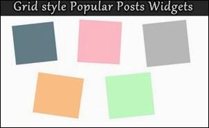 popular posts grid
