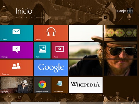 Tiles personalizados en Windows 8