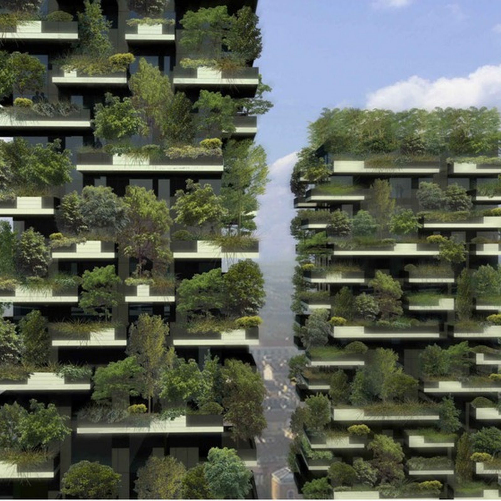 Bosco Verticale: World's First Vertical Forest in Milan
