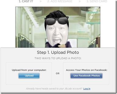 Gagnam Style personalizzato carica foto