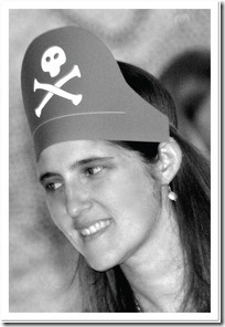 sombrero de pirata molde