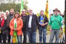 Aktiv gegen das Atomkraftwerk Grafenrheinfeld