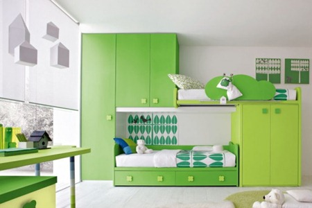 Kids bed room interior decorations1