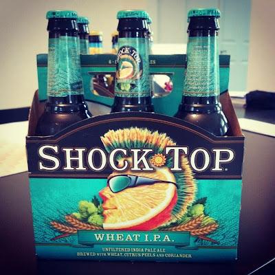 SHOCK TOP WHEAT IPA
