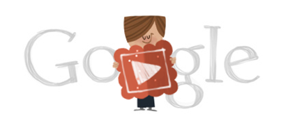 Happy Valentines Day Cold Cold Heart-Google Logo